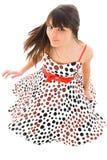 framkallande klänning Fotografering för Bildbyråer