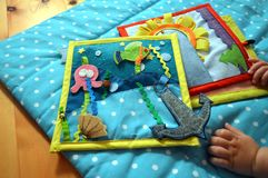 framkallande leksak för ungen Royaltyfria Bilder