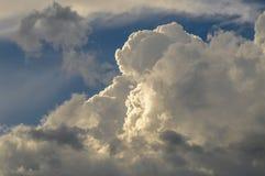 Framkallande Thunderhead fördunklar över Adirondacken Forest Preserv Royaltyfri Fotografi