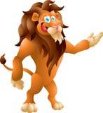Framlägga för lejon Arkivbild
