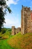 Framlingham城堡废墟,英国 库存照片