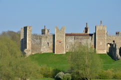 Framlingham Castle View Stock Photos