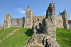 Framlingham castle with wall Stock Photography
