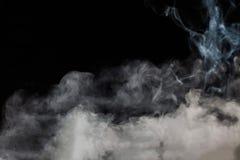 Frammenti del fumo su un fondo Fotografia Stock Libera da Diritti