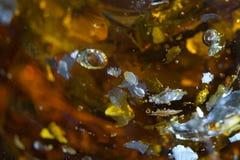 Frammenti di galleggiamento Fotografia Stock