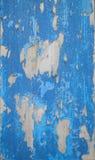 Frammenti di legno blu di struttura Fotografia Stock Libera da Diritti