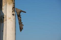 Frammenti di vecchio portone di legno Fotografie Stock Libere da Diritti