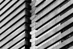 Frammento astratto di architettura moderna Immagini Stock