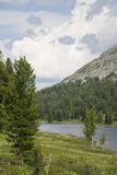 Frammento del lago della montagna. Immagine Stock Libera da Diritti