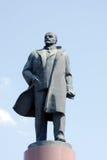 Frammento del monumento del Lenin Fotografie Stock
