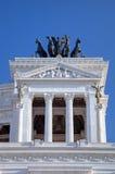 Frammento del Monumento Nazionale un Vittorio Emanuele II. Roma (Roma), Italia Fotografie Stock Libere da Diritti