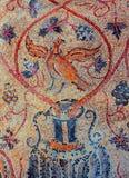 Frammento del mosaico bizantino Fotografie Stock