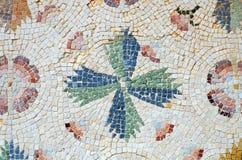 Frammento del mosaico colourful antico Fotografie Stock Libere da Diritti