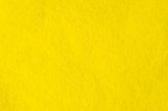 Frammento del panno giallo Microfiber Struttura del mucchio Immagine di priorità bassa Immagine Stock Libera da Diritti