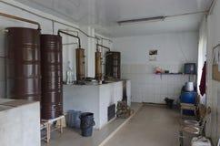Frammento del posto in distilleria fotografia stock