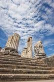 Frammento del tempio di Apollo Fotografia Stock