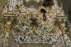 Frammento dell'altare della cappella del Transparente nella C Immagini Stock Libere da Diritti