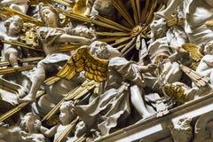 Frammento dell'altare della cappella del Transparente nella C Fotografie Stock Libere da Diritti