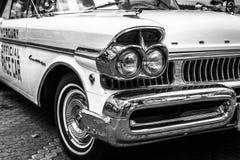 Frammento dell'automobile 100% Ford Mercury Turnpike Cruiser, 1957 Rebecca 36 Fotografia Stock