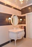 Frammento dell'interno del bagno Fotografia Stock