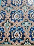 Frammento dell'ornamento della moschea Fotografie Stock