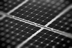 Frammento della batteria solare Immagine Stock Libera da Diritti