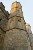 Frammento della casa del portone nell'abbazia di battaglia in Sussex orientale in Inghilterra immagini stock