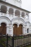 Frammento della chiesa russa antica Yaroslavl, Russia Immagine Stock Libera da Diritti