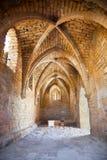 Frammento della città antica Cesarea. L'Israele. Fotografia Stock Libera da Diritti