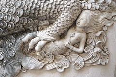 Frammento della decorazione del tempio Immagini Stock Libere da Diritti