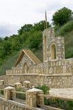 Frammento della decorazione della sorgente santa. fotografie stock libere da diritti