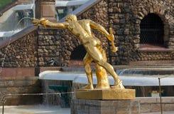 Frammento della fontana Immagini Stock
