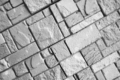 Frammento della parete di pietra Immagini Stock Libere da Diritti