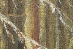Frammento della pittura a olio come immagine Immagini Stock Libere da Diritti