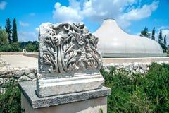 Frammento della scultura antica Immagini Stock