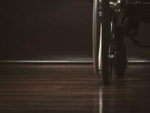 Frammento della sedia a rotelle immagine stock