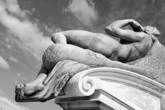 Frammento della statua di David. Firenze, Italia Immagine Stock