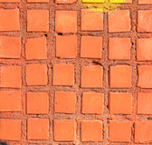 Frammento della superficie del mosaico fotografia stock