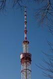 Frammento della torre della TV Immagine Stock