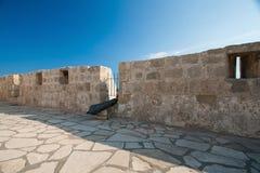 Frammento di architettura di Richard il castello del Lionheart Immagine Stock Libera da Diritti
