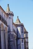 Frammento di costruzione nella città di Coimbra Fotografia Stock
