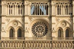 Frammento di Notre Dame Fotografia Stock
