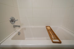 Frammento di un bagno di lusso Fotografie Stock Libere da Diritti