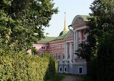 Frammento di un palazzo imperiale in proprietà terriera Sheremetev Fotografie Stock
