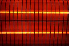 Frammento di un riscaldatore elettrico Fotografie Stock Libere da Diritti