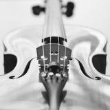 Frammento di un violino Immagini Stock Libere da Diritti