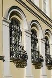 Frammento di una facciata Immagine Stock