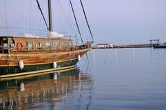 Frammento di vecchia nave. Fotografie Stock