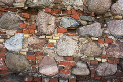 Frammento di vecchia parete Immagini Stock
