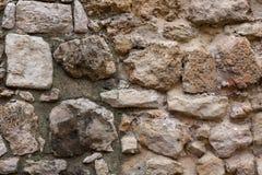 Frammento di vecchia parete della città Fotografia Stock Libera da Diritti